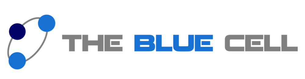 The Blue Cell logo